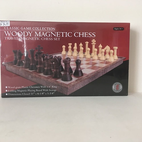 Classic Game Collection WOODY MAGNETIC CHESS
