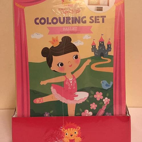 Colouring Set - Ballet