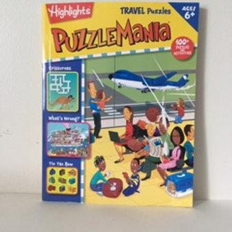 Highlights PuzzleMania Travel Puzzles
