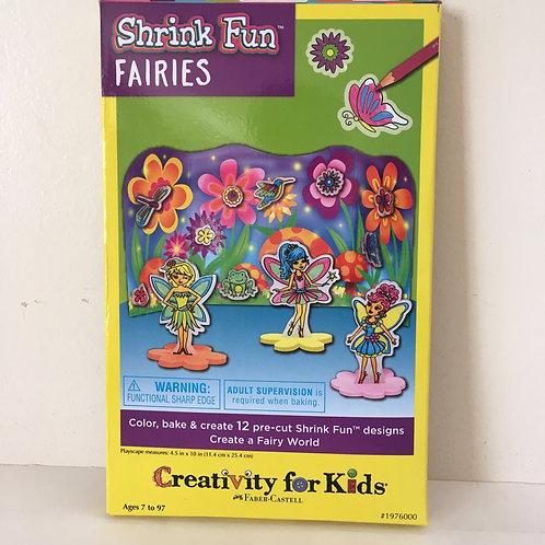 Creativity for Kids - Shrink Fun Fairies