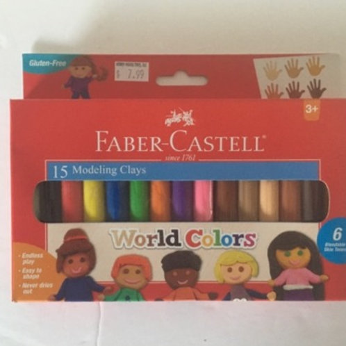 Faber Castell Modeling Clays