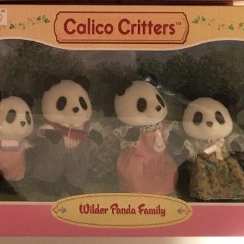 Calico Critters Wilder Panda Family