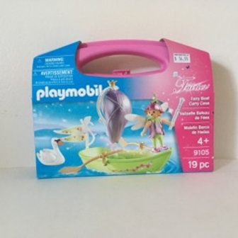 Playmobil Fairy Boat with Carry Case