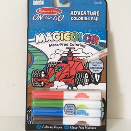 Melissa & Doug On the Go Adventure Coloring Pad