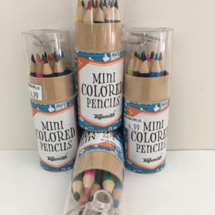 Mini Colored Pencils (each sold seperately)