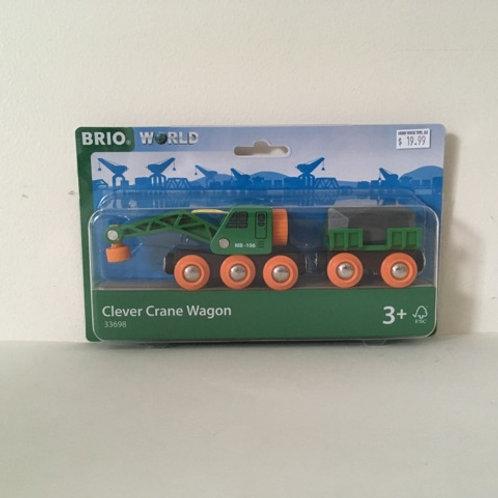 Brio World Clever Crane Wagon #33698