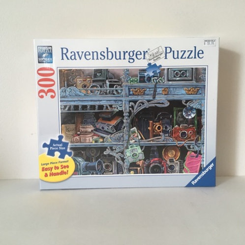 Ravensburger Camera Evolution Large Format Puzzle