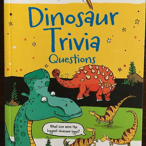 Dinosaur Trivia Questions Book