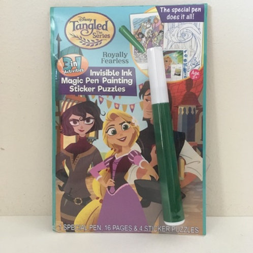 Lee Invisible Ink & Sticker Puzzles - Disney Tangled