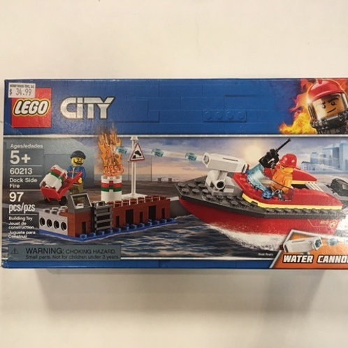 Lego City Dock Side Fire #60213