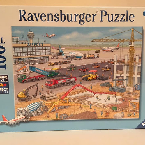 Ravensburger 100 XXL pc Puzzle, Airport construction site