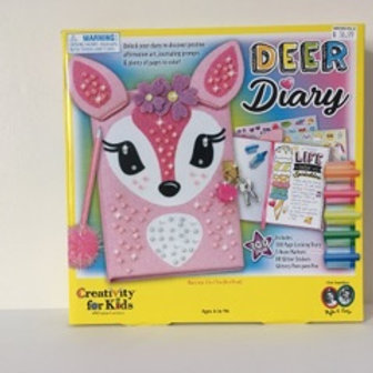 Creativity for Kids Deer Diary Kit