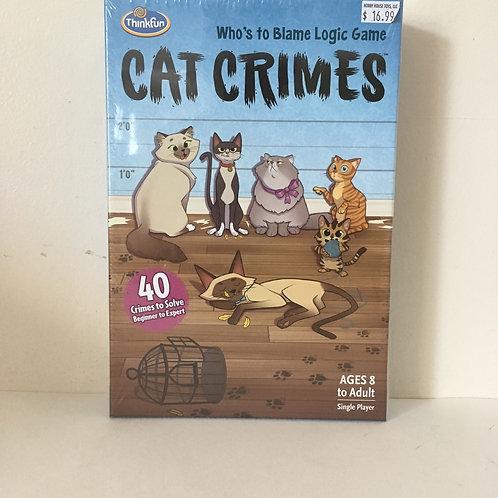 Thinkfun's Cat Crimes