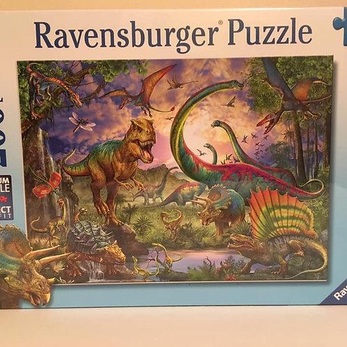Ravensburger 200 XL pc Puzzle, Dinos