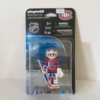 Playmobil NHL Montreal Canadiens Goalie