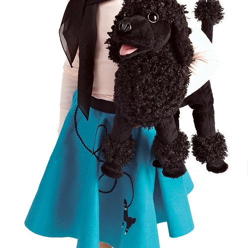 Folkmanis Black Poodle Puppet