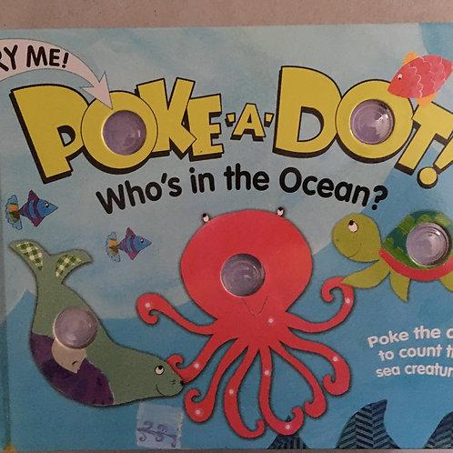 """Poke-a-Dot! """"Who's in the Ocean?"""""""