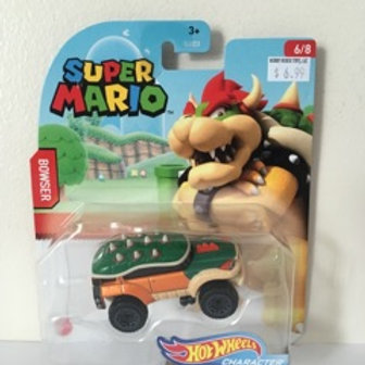 Hot Wheels Super Mario - Bowser Vehicle