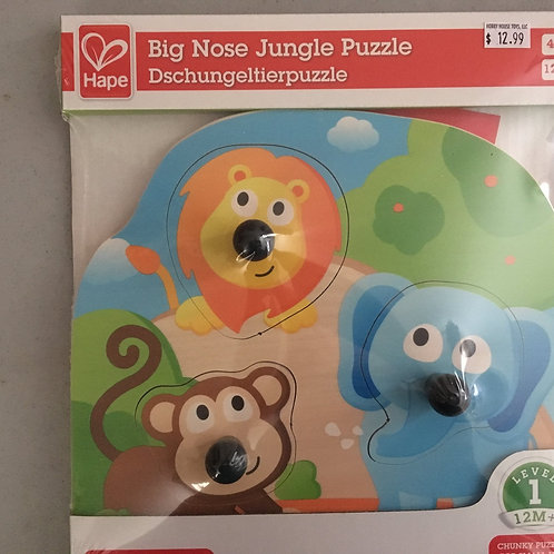 Hape Big Nose Jungle Puzzle