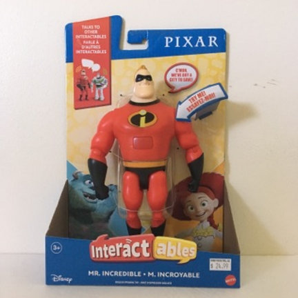 Disney Pixar Mr Incredible Interactable Figure