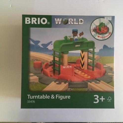 Brio World Turntable & Figure #33476