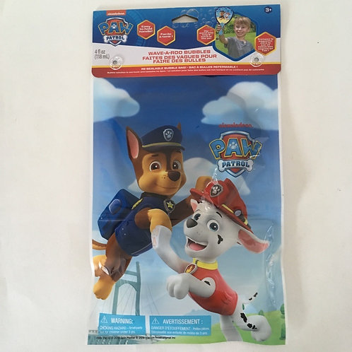 Paw Patrol Wave-a-Roo Bubbles