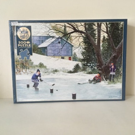 Cobble Hill Hockey Drills Puzzle