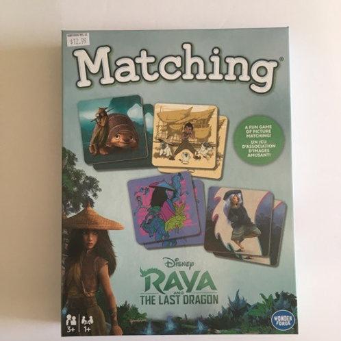 Disney Rava and the Last Dragon Matching Game