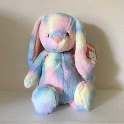 Gund Plush Thistle Rainbow Rabbit
