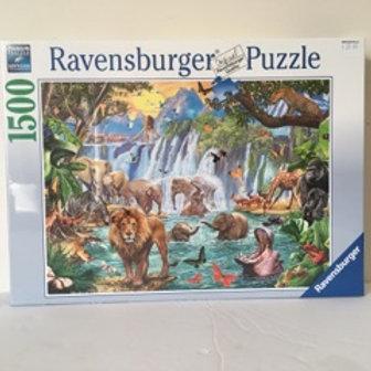 Ravensburger Waterfall Safari Puzzle #16461