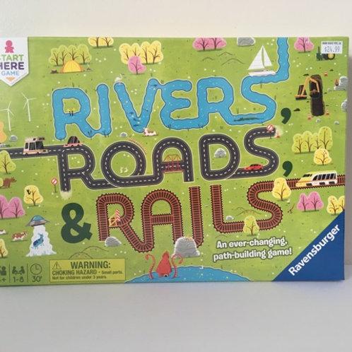 Ravensburger Rivers Roads & Rails Game