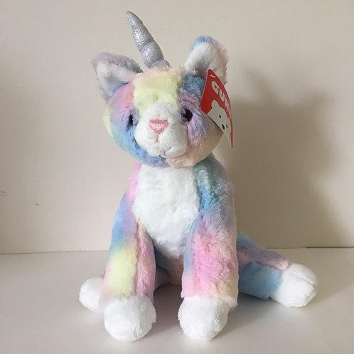 Gund Shimmer Plush Unicorn Cat