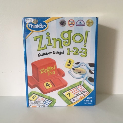 Thinkfun Zingo Number Bingo! 1-2-3