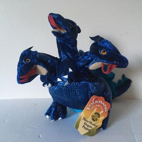 Folkmanis Three Headed Dragon Puppet