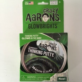 Crazy Aarons GlowBrights - Dragon Scales Thinking Putty
