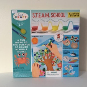 S.T.E.A.M.  School Painting Science Kit