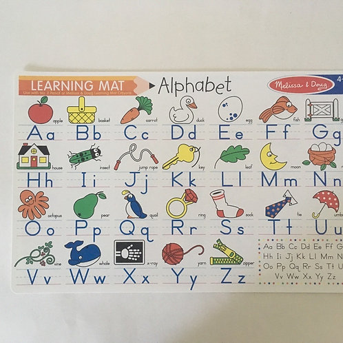 Melissa & Doug Learning Mat - Alphabet