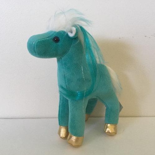 Douglas Haven Aqua Horse Plush