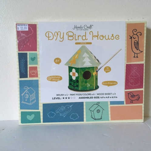 Hand Craft Bird House Kit