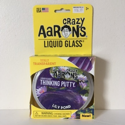Crazy Aarons Liquid Glass Lily Pond Thinking Putty