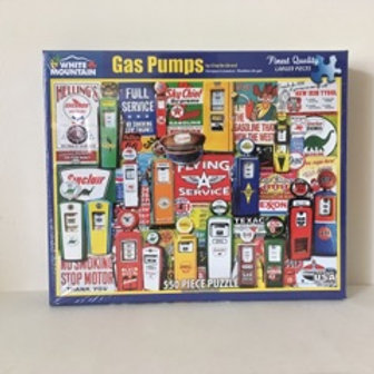 White Mountain Gas Pumps Puzzle