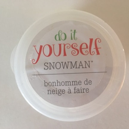 Do it Yourself Snowman