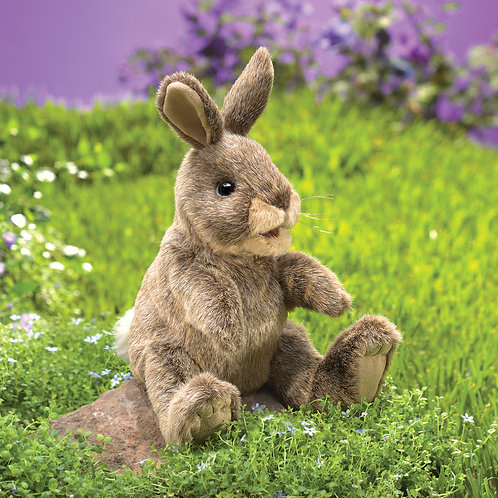 Folkmanis Small Cottontail Rabbit Puppet