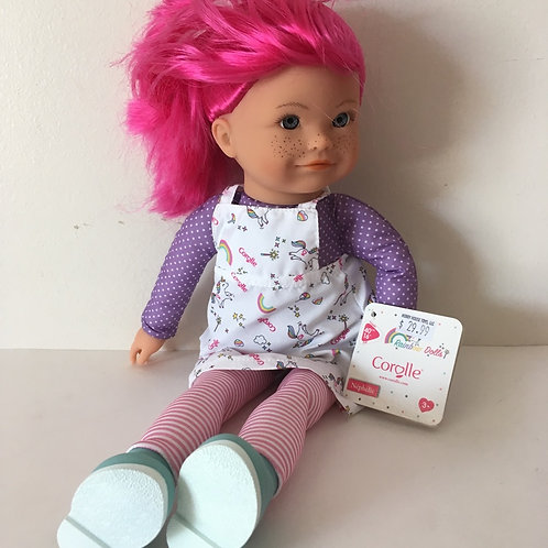Corolle 16 inch Rainbow Nephelie Doll #300020
