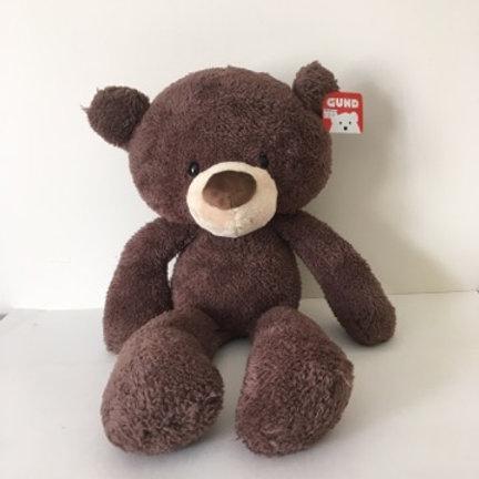 Gund Fuzzy Chocolate Bear Plush