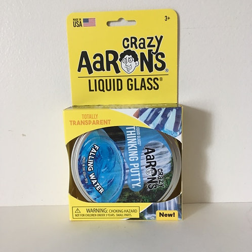 Crazy Aaron's Liquid Glass Falling Water Thinking Putty