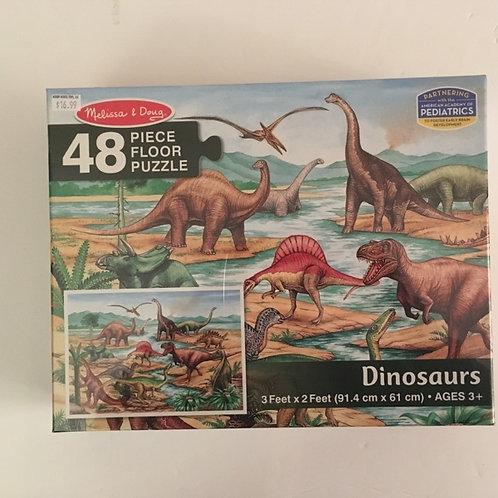Melissa & Doug 48 Piece Puzzle - Dinosaur