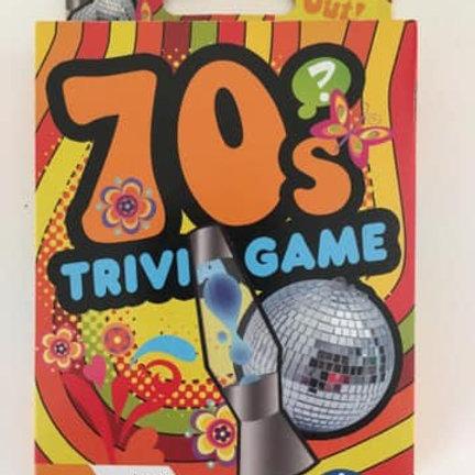 70's Trivia Game