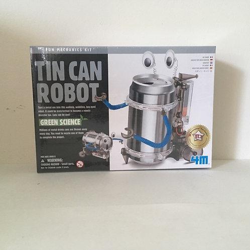 Tin Can Robot, Green Science Fun Mechanics Kit