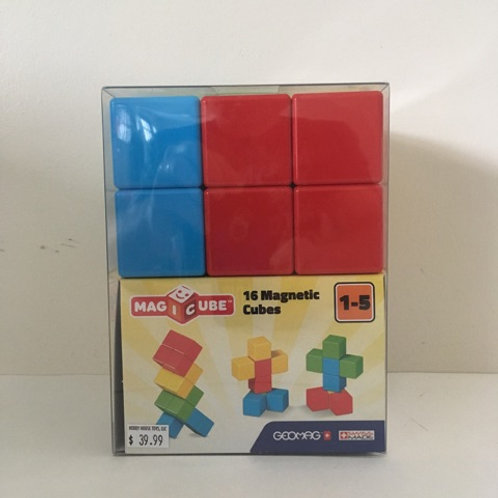 GeoMag Magic Cube 16 Magnetic Cubes